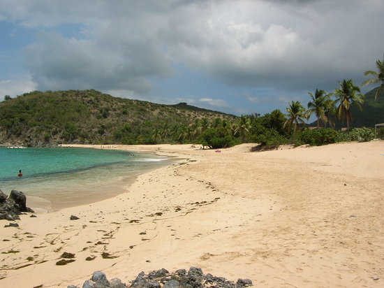 Saint-Martin, Sint Maarten: Happy Bay Beach
