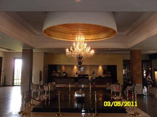 ClubHotel Riu Tikida Palmeraie: reception area