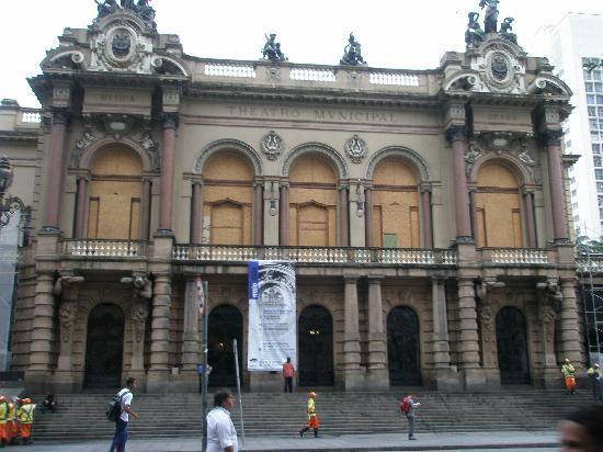 São Paulo, SP: Муниципальный театр