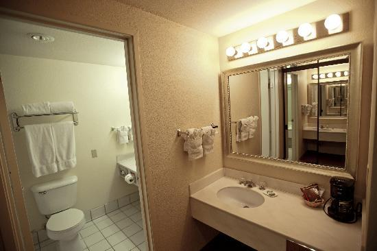 Country Inn & Suites By Carlson, Ventura: Bathroom and Vanity