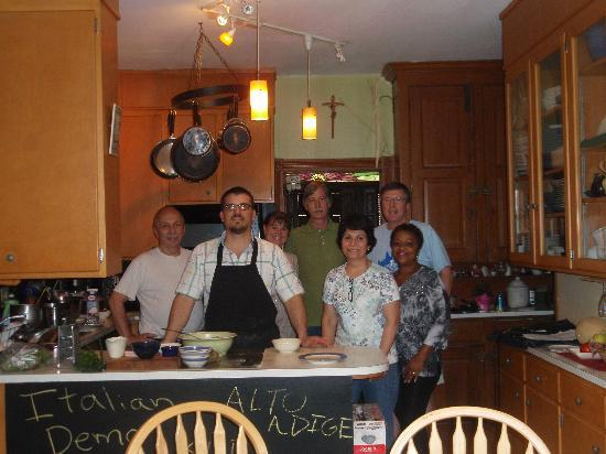 Harvest Moon Bed and Breakfast: The chef and the class