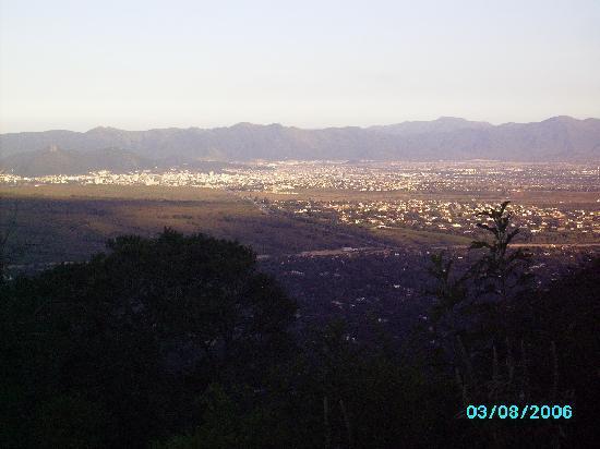 San Lorenzo, Argentina: cista desde el mirados