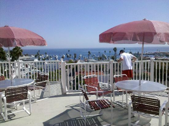 Hotel St. Lauren: Rooftop Balcony