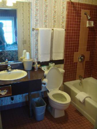 Hotel St. Lauren: The bathroom