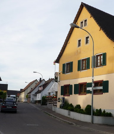 Neuenburg am Rhein, Alemania: Gasthaus Salmen