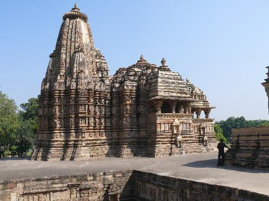 Hotel Surya Khajuraho : Khajuraho tempelground