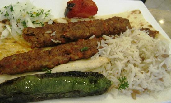 Bosphorus Turkish Restaurant: Lamb kebab