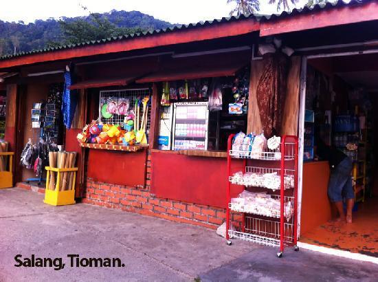 Salang Pusaka Resort: Souvenir Shop, Salang
