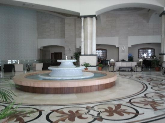 Melas Lara Hotel: reception area