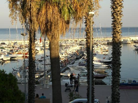 Hotel Ristorante Principe Decurtis : vista mare dall'Hotel Principe Decurtis Diano Marina