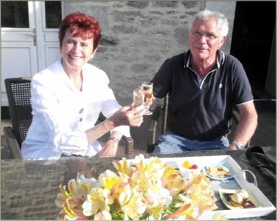 Clos Saint Ange: champagne