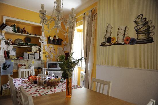 B&B Le Naiadi: sala colazione