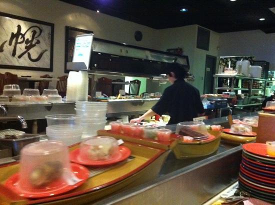 Soro Anese Steak House Sushi Boats