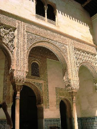 Museo de La Alhambra: un arco