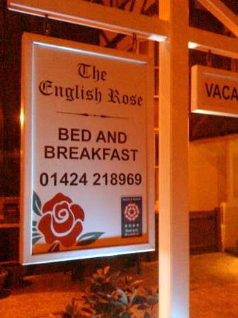 English Rose B&B: The English Rose