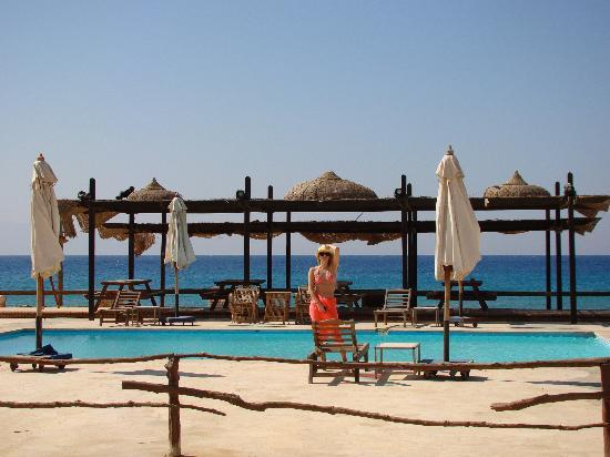 Sayadeen Village Nuweiba : We didn't even use this pool, the sea is too perfect for swimming!