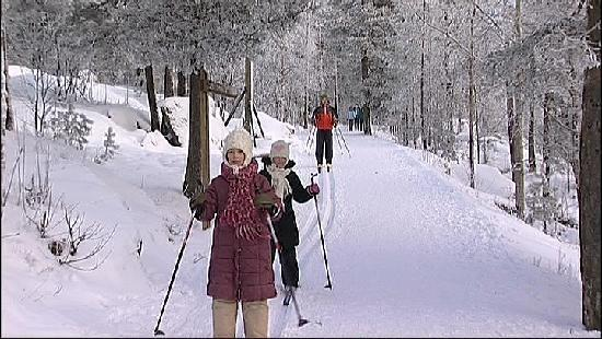 Tampere, Finland: Winter fun