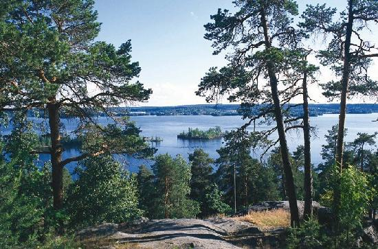 Tampere, Finland: Southern lake