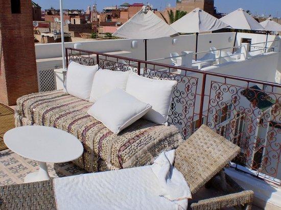 Hotel du Tresor : Zona Terrazza
