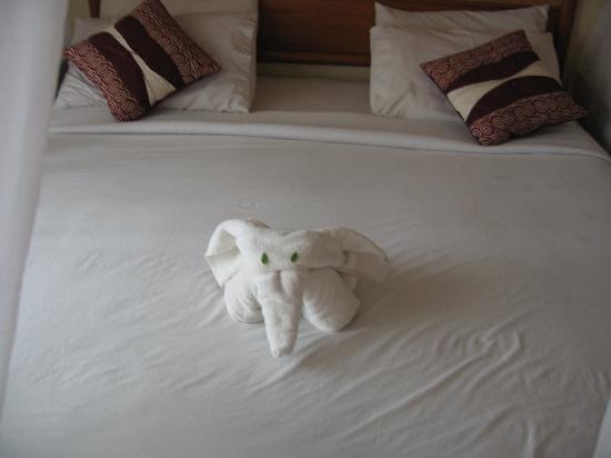 Villa Kerti Yasa: towel art