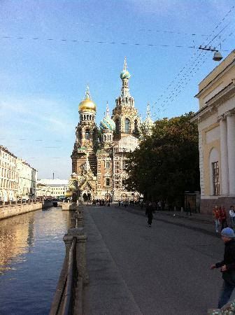 St. Petersburg, Russia: The Cathedral of the Saviour on the spilled blood