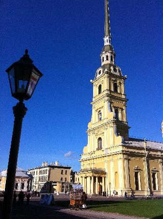 St. Petersburg, Russia: The St.Peter and Paul's cathedral