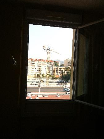 Hotel L'Esterel: La vue sur mer