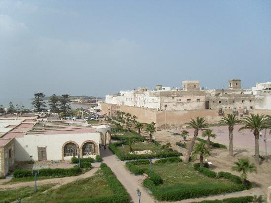 Riad des Palmiers : view from roof terrace