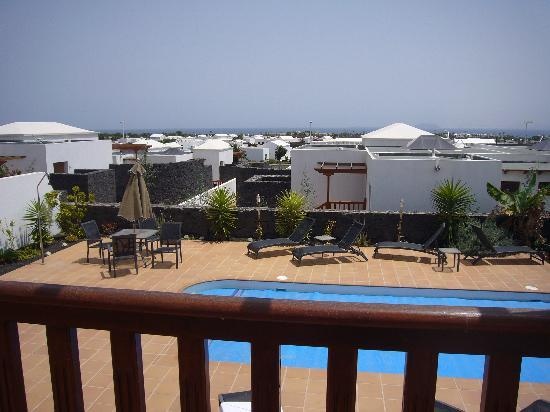 Vista Lobos Villas : View from upper terrace (Casablanca)