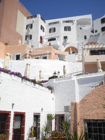 Hotel Kavalari: view up !