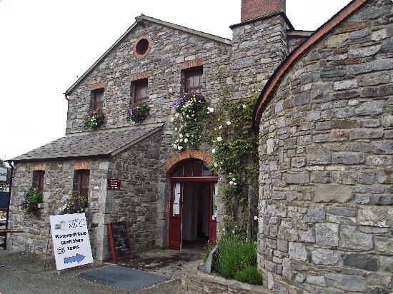 Skerries Mills: Entrance to Skerries Tour and cafe