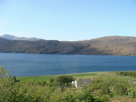 Ardlair Ullapool Bed & Breakfast: View out our window