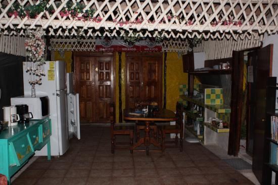 Casa Maya Holbox: Areas comunes