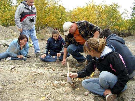 Canadian Fossil Discovery Centre: More DIGGING!!