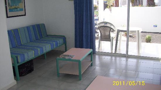 Apartamentos THe Oasis: Sitting area
