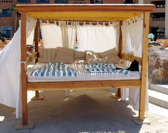 Puerto Peñasco, México: The beach cabanas at Penasco del Sol