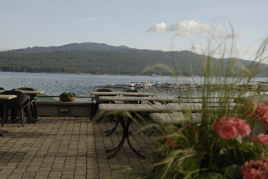 From the patio at Hotel McCall