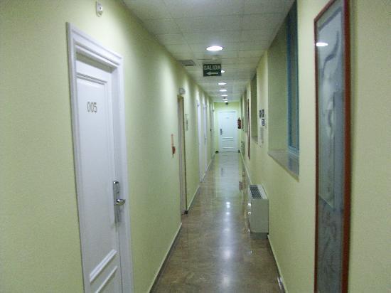 Hotel Orus: Flur