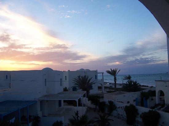 Hotel Flamingo Beach: vue du balcon