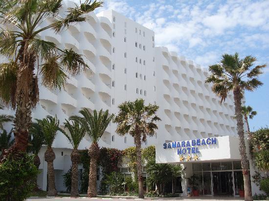 Sahara Beach Aquapark Resort: Main entrance to the hotel