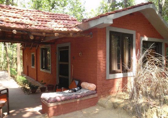 Kanha Jungle Lodge: Our room