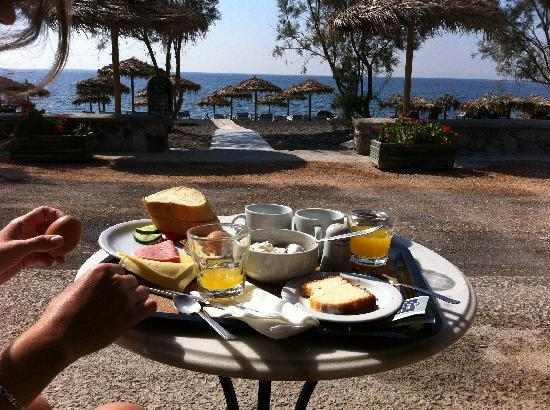 Sellada Beach Hotel: Frukost