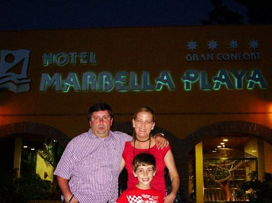 Marbella Playa Hotel: no me gusto mucho