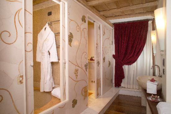 Locanda dello Spuntino: Bagno Demi-Suite Room