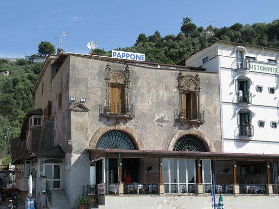 Marina del Cantone, Itália: Esterno
