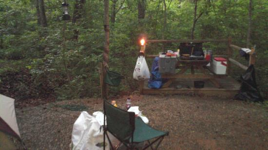 Jenny's Creek Campground: campsite nr 26