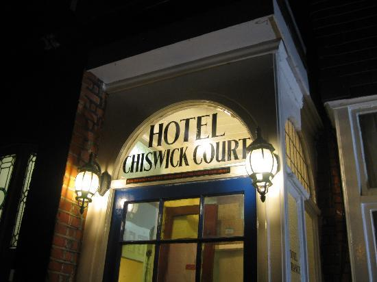Chiswick Court Hotel: l'ingresso dell'hotel