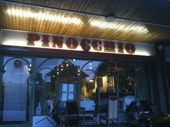 Pinocchio: Outside