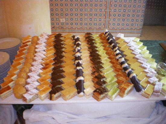 Hotel Isis Thalasso & Spa : les desserts
