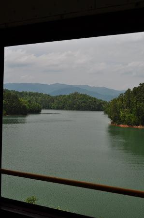 Bryson City, Carolina del Nord: View from bridge